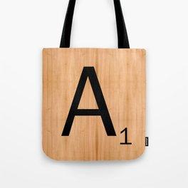 Scrabble Letter Tile - A Tote Bag