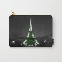 Paris Night Green Carry-All Pouch