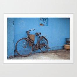 Indian Bicycle 2 Art Print