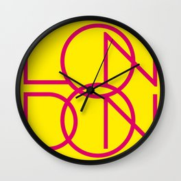 London 4 Wall Clock