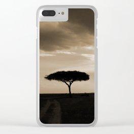 Masai Mara Clear iPhone Case