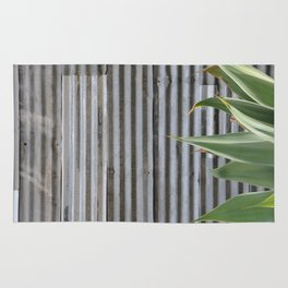 cactus and textured wall Rug
