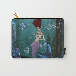 Wonderful mermaid in the deep ocean Carry-All Pouch