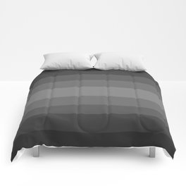 Dark Cool Stone Gray - Color Therapy Comforters