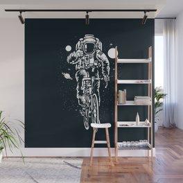 Crazy Astronaut Wall Mural