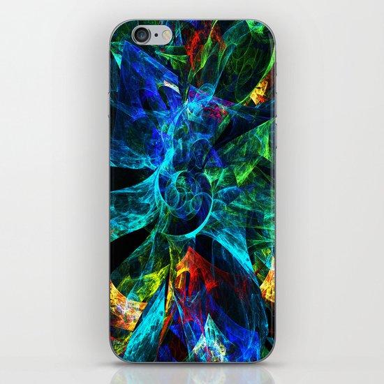 Colorful Petals iPhone & iPod Skin