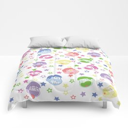 Six Same Faces Comforters