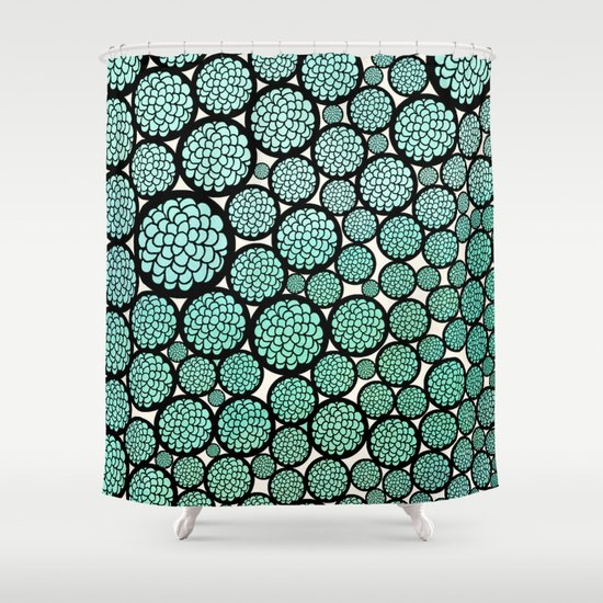 Blooming Trees Shower Curtain By Pom Graphic Design