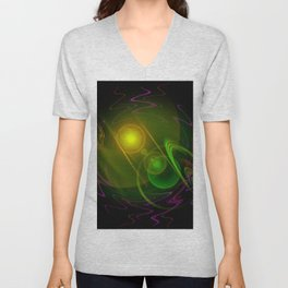 Abstract in perfection - Space Unisex V-Neck