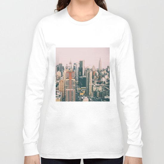 New York architecture 4 Long Sleeve T-shirt