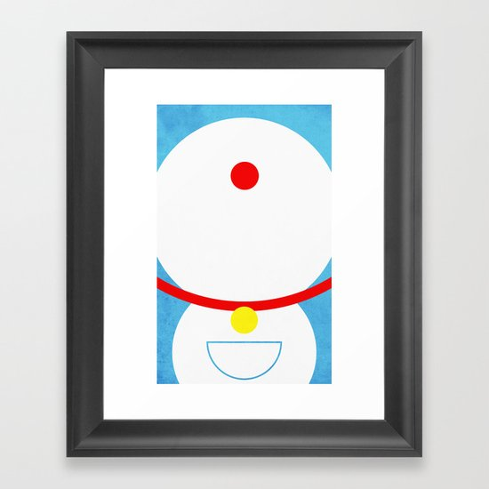 Doraemon Framed Art Print