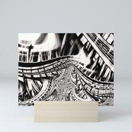 Fevered Highways Mini Art Print