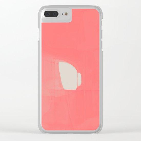 UNTITLED#76 Clear iPhone Case