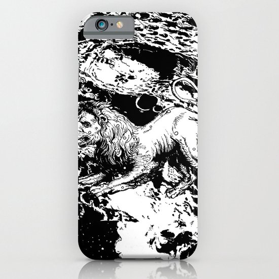 Moon Lion iPhone & iPod Case