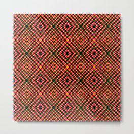 Interlock - Optical Series 003 Metal Print