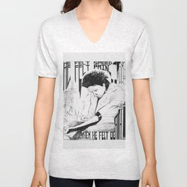 He Felt Speed Unisex V-Neck