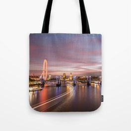 On the Thames - London Tote Bag