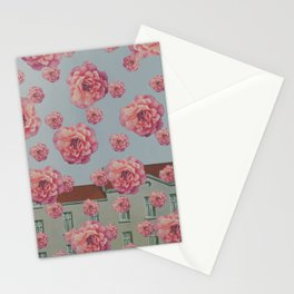 SPRING COMING (After Rene Magritte)  Stationery Cards
