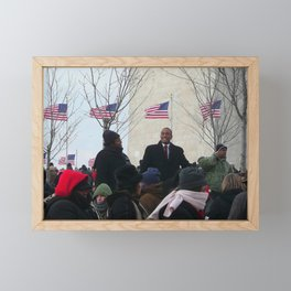 Inauguration Day 2009, Washington D.C. Framed Mini Art Print