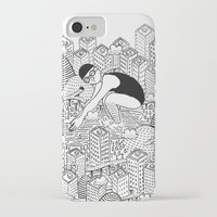 diver iPhone & iPod Cases featuring Diver by millo