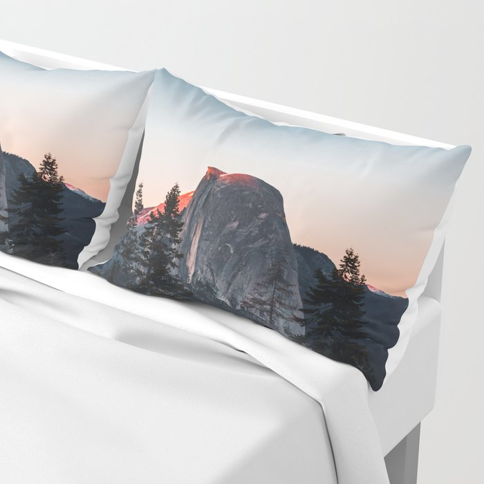Last Light at Yosemite National Park Pillow Sham