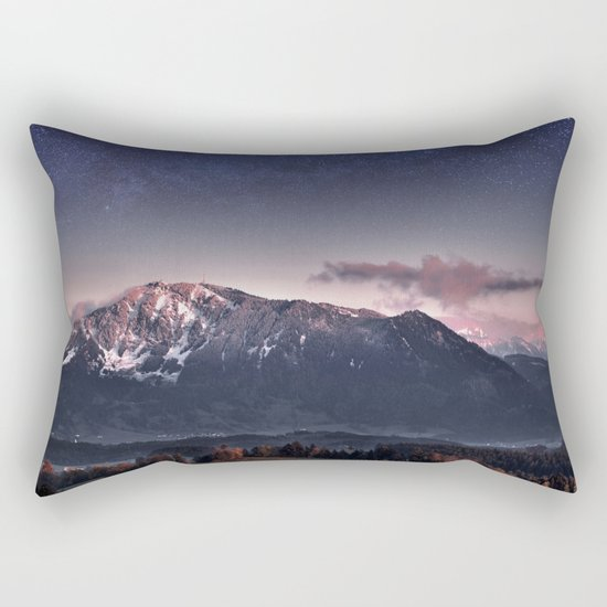 Fantasy mountain Rectangular Pillow by Andrew Marcu Society6