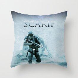 Scarif Planet Throw Pillow