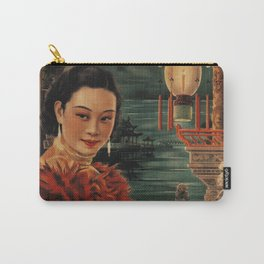 Vintage Chinese Movie Poster Carry-All Pouch