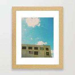 USA Love Framed Art Print