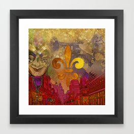 A night in New Orleans part 1 Framed Art Print