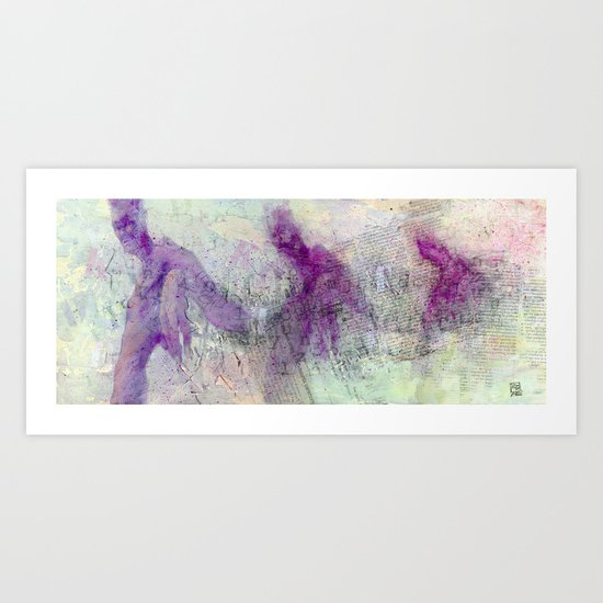 Figura Palindroma Art Print