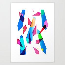 bubblegum gems Art Print