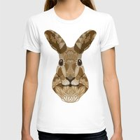 hare T-shirts featuring Ornate Hare by ArtLovePassion