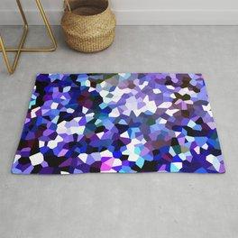 Ultra Violet Purple Blue Gems Rug