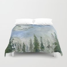 The Endor Morning Sky Duvet Cover