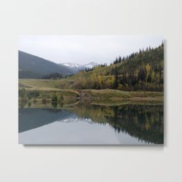 Reflections on Nature Metal Print