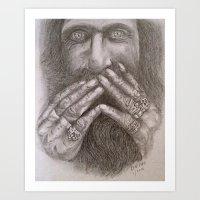Man Alive Art Print