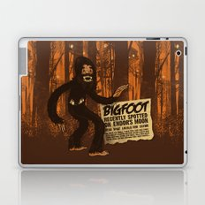 Bigfoot spotted on… Laptop & iPad Skin