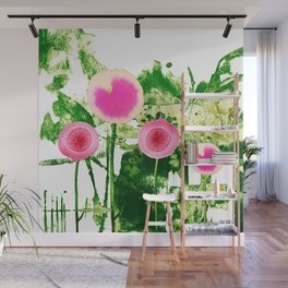 flowers family 2 Wall Mural
