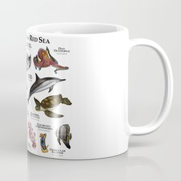 Animals of the Red Sea Coffee Mug