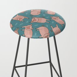 Pattern Project #52 / Piglets Bar Stool