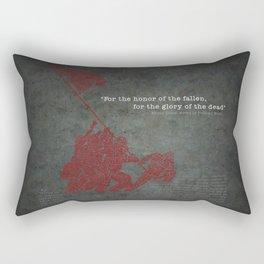 Iwo Jima Rectangular Pillow