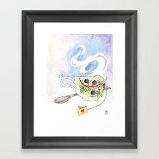 Blackberry Cup Framed Art Print