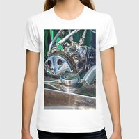 ford T-shirts featuring Ford V8 by Shalisa Photography