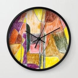 The Light Shines through Wall Clock