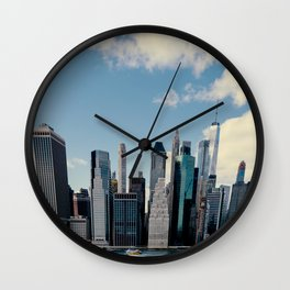 New York Tall Wall Clock