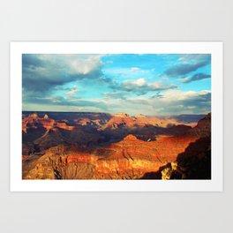 Grand Canyon - National Park, USA, America Art Print