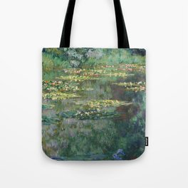 Water Lilies 1904 by Claude Monet Tote Bag