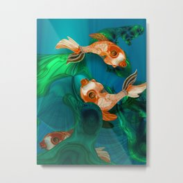 Ada Lake Natives Metal Print