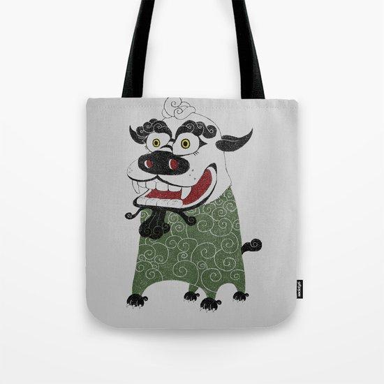 Shishi 獅 Tote Bag